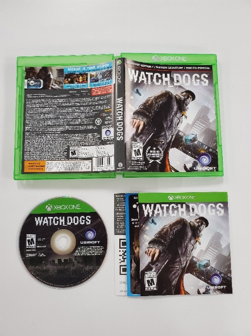 Watch Dogs (Signature Edition) (CIB)