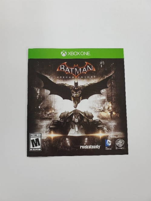 Batman: Arkham Knight (I)