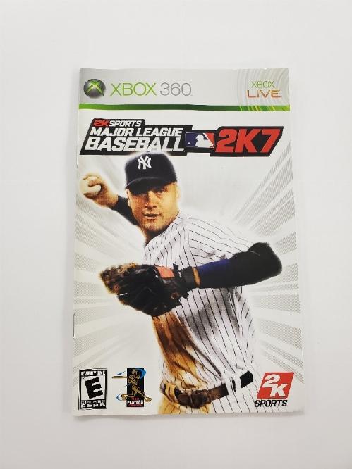 Major League Baseball 2K7 (I)