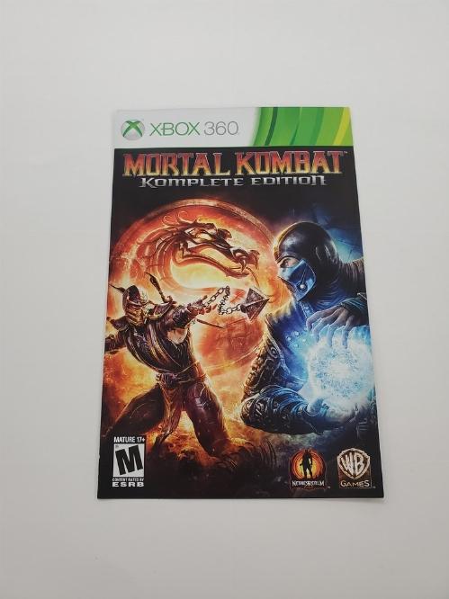 Mortal Kombat Komplete Edition (I)