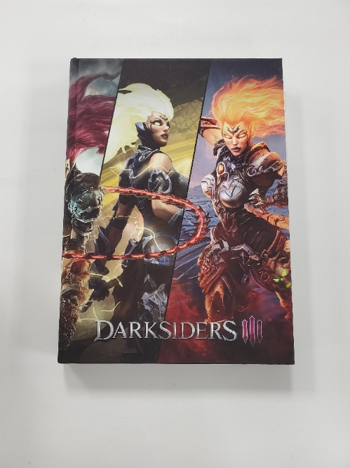 Darksiders III Official Collector's Edition Hard Cover Guide