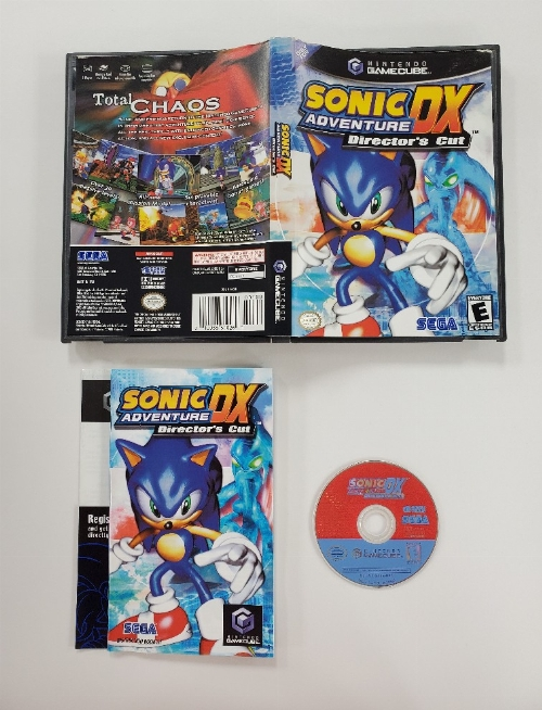 Sonic Adventure DX Director's Cut (CIB)