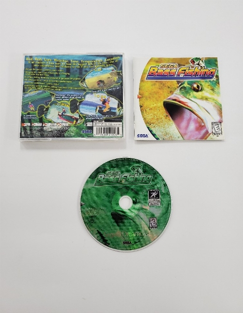 SEGA Bass Fishing (CIB)