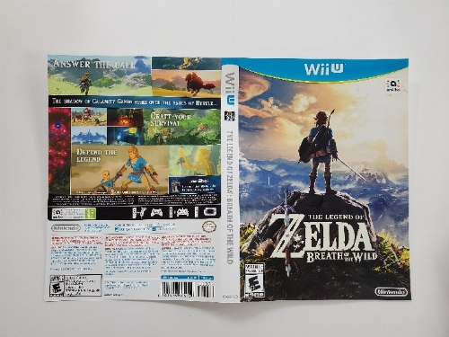 Legend of Zelda Breath of the Wild (B)