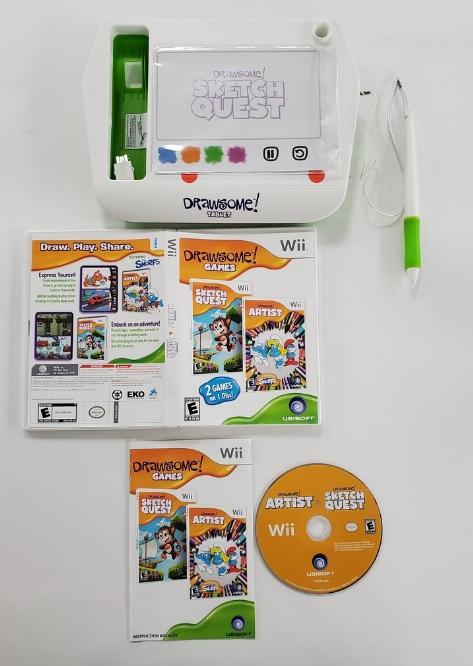 Drawsome Games w/ Tablet (CIB)