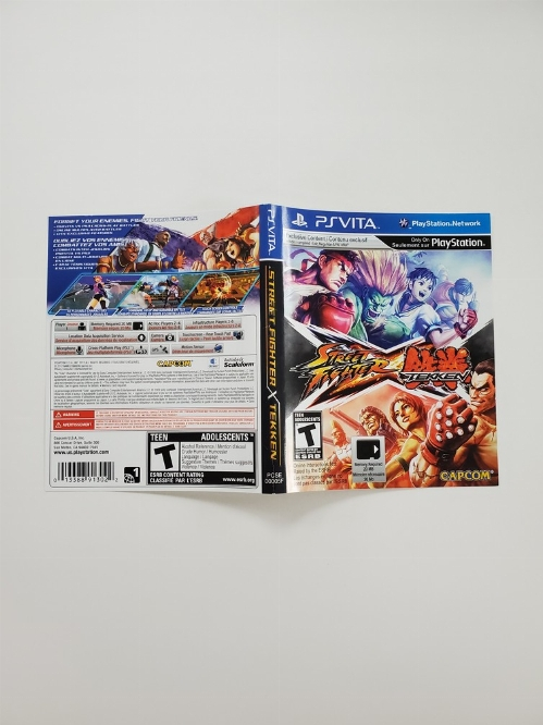 Street Fighter X Tekken (B)
