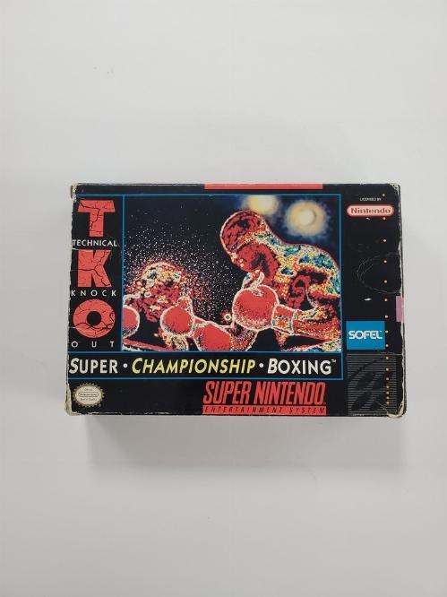 TKO Super Championship Boxing (B)